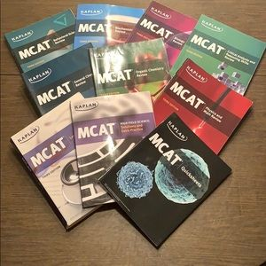Kaplan MCAT 3rd Edition Complete Review Book Set